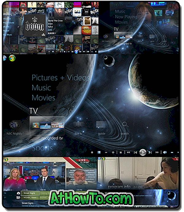 विंडोज 7 मीडिया सेंटर के लिए 'होमवर्ल्ड' थीम डाउनलोड करें