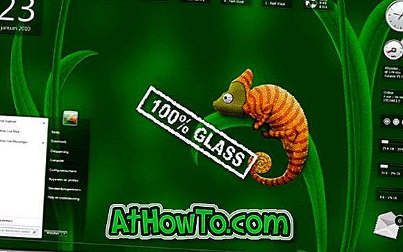 विंडोज 7 के लिए ग्लास गैजेट्स पैक डाउनलोड करें (14 ग्लास गैजेट्स)