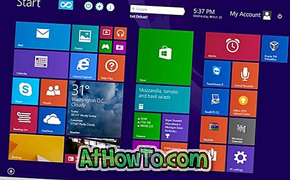 Come cercare Google dalla schermata Start in Windows 8 / 8.1