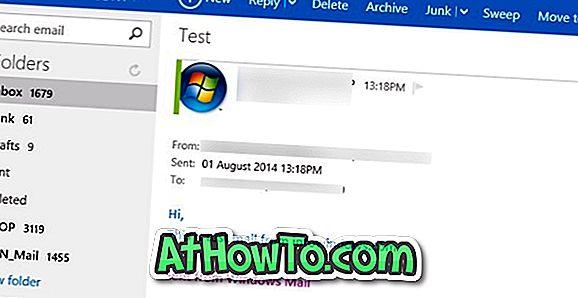Cum să dezactivați trimis din semnătura Windows Mail