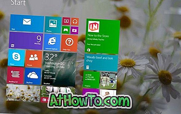 Zurücksetzen des Windows 8.1-Startbildschirms auf die Standardeinstellungen