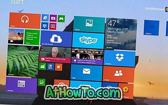 Как да настроите анимирани тапети или видео като фон на началния екран в Windows 8.1 [Видео]