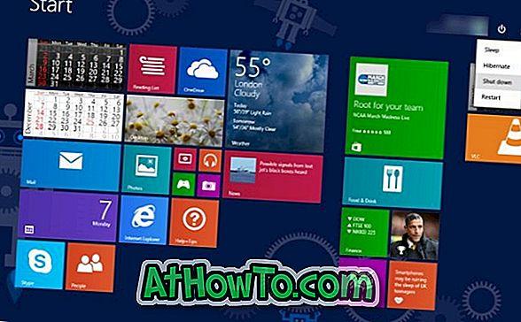 Windows 8.1 업데이트 1을 쉽게 제거하는 방법