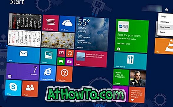 Sådan afmonteres Windows 8.1 Update 1 nemt