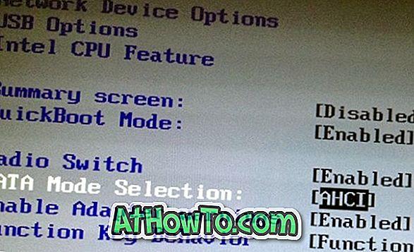 Sådan installeres Windows 8.1 på SSD