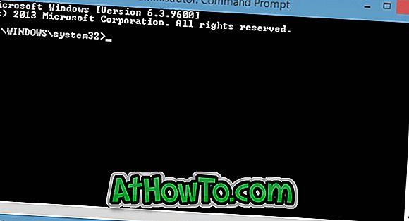 Kaip atidaryti komandų eilutę kaip administratorių Windows 8.1