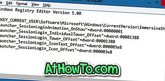 Ausgeblendete Startbildschirmanimation in Windows 8 aktivieren