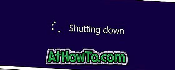 Kaip išjungti Windows 8