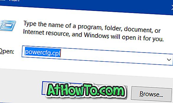 Cómo habilitar la hibernación en Windows 10/8