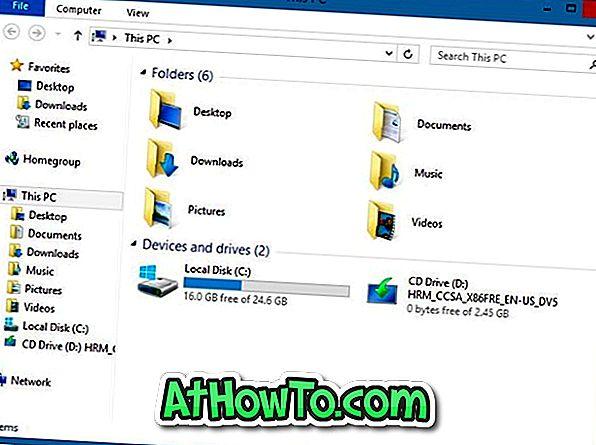 Entfernen Sie Desktop, Dokumente und Bilder von diesem PC