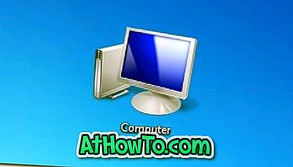 विंडोज 8 डेस्कटॉप पर कंप्यूटर आइकन जोड़ें