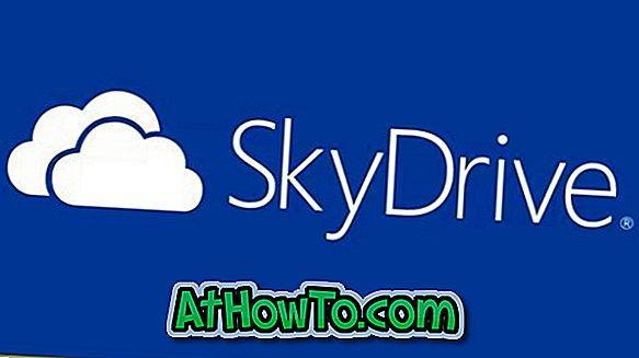 Sådan forbedres SkyDrive Upload Speed