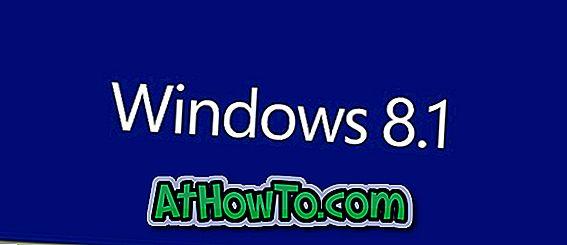 Kā atjaunot Windows 8.1 dublējuma attēlu