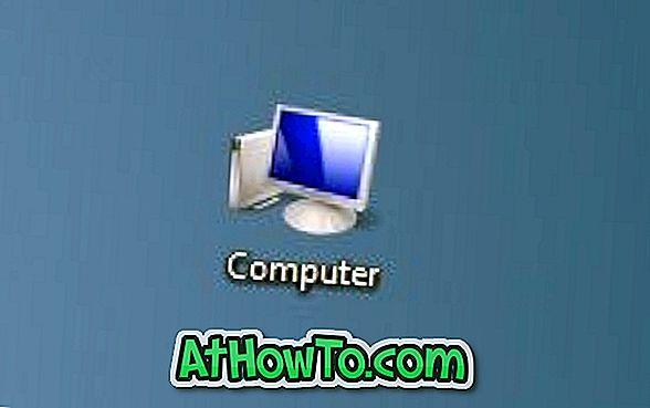 विंडोज 8 में डेस्कटॉप पर कंप्यूटर आइकन कैसे दिखाएं