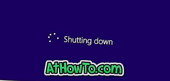 Sådan lukkes Windows 8 hurtigt ved at ændre Power Button Action til nedlukning