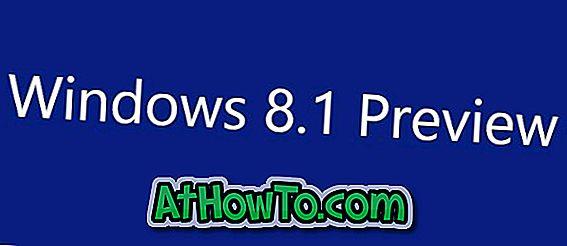 Windows 8.1 Preview veröffentlicht