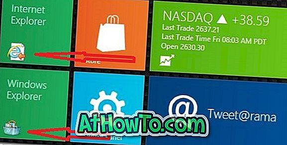 Come cambiare le icone delle tessere dell'applicazione nella schermata iniziale di Windows 8