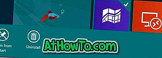 Kuidas takistada kasutajate eemaldamist Metro-rakendustest Windows 8-s