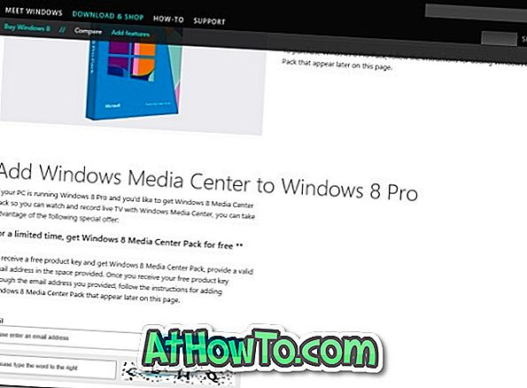 Get Windows 8 Media Center Pack brezplačno