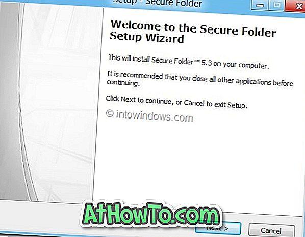 Ako chrániť heslom zložky vo Windows 8. \ T