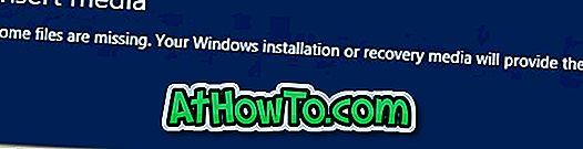 Sådan nulstilles eller opdateres Windows 8 uden dvd
