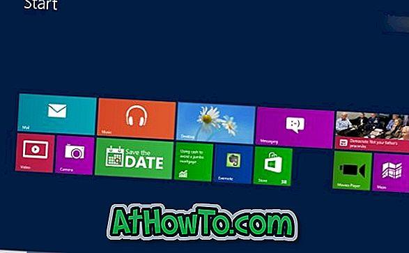So ändern Sie die Anzahl der Zeilen auf dem Startbildschirm in Windows 8