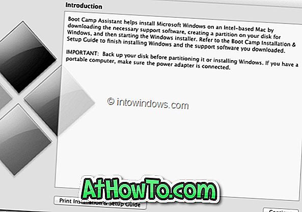 So entfernen oder entfernen Sie die Windows 8 Boot Camp-Partition