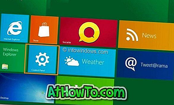 विंडोज 8.1 में टच स्क्रीन को सक्षम या अक्षम करें