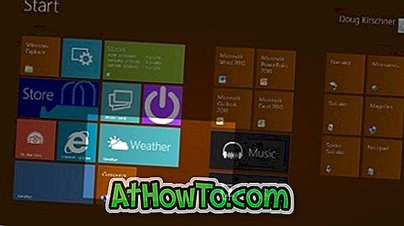Desativar a tela inicial do Windows 8