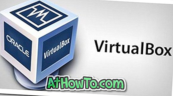 Kuidas installida Windows 8 VirtualBox Virtual Machine