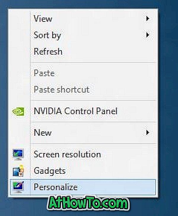 Så här aktiverar / inaktiverar du startljudet i Windows 8