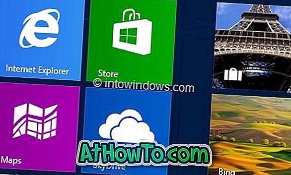 Kā iegādāties lietojumprogrammas no veikala Windows 8