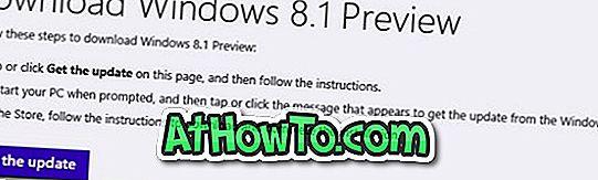 विंडोज 8.1 पूर्वावलोकन के लिए विंडोज 8 को कैसे अपग्रेड करें
