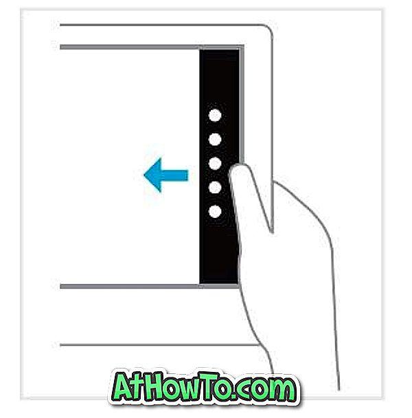 Windows 8 Touch-Gesten
