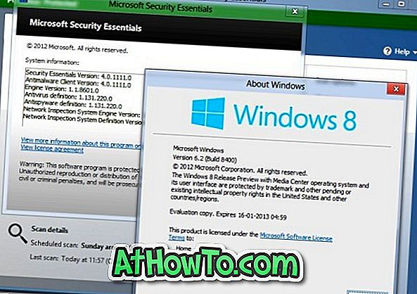 So installieren Sie Microsoft Security Essentials (MSE) in Windows 8