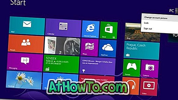 So legen Sie Video als Kontobild in Windows 8 fest