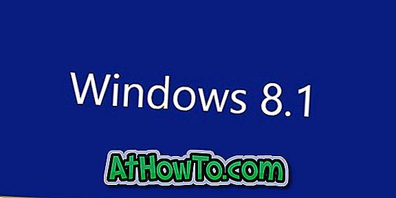 Sådan bruges den skjulte dias til at lukke funktion i Windows 8.1