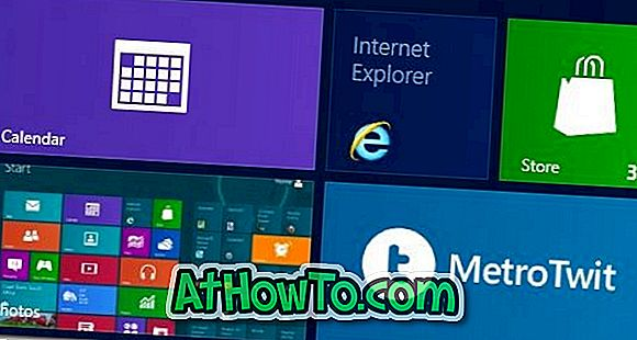 Correzione: Tile Metro Internet Explorer mancante dalla schermata Start in Windows 8
