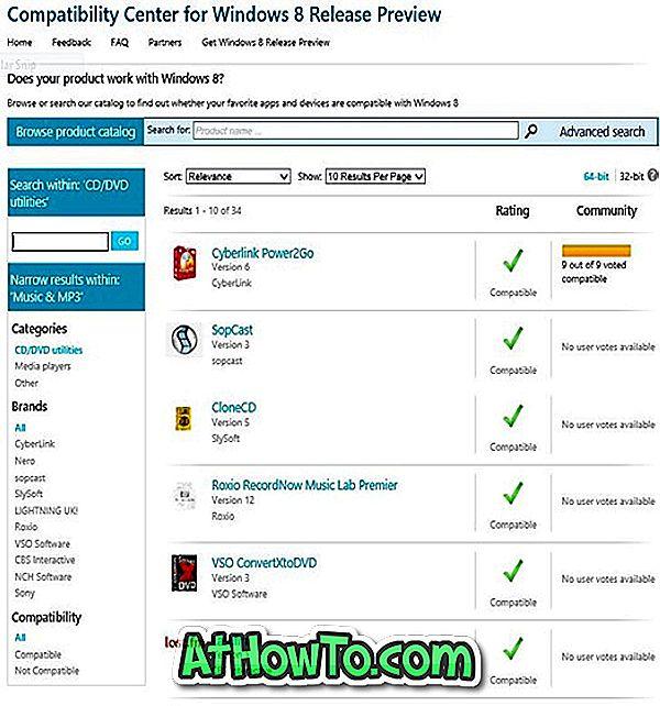Kaip patikrinti, ar jūsų programinė įranga ir įrenginiai palaiko Windows 8